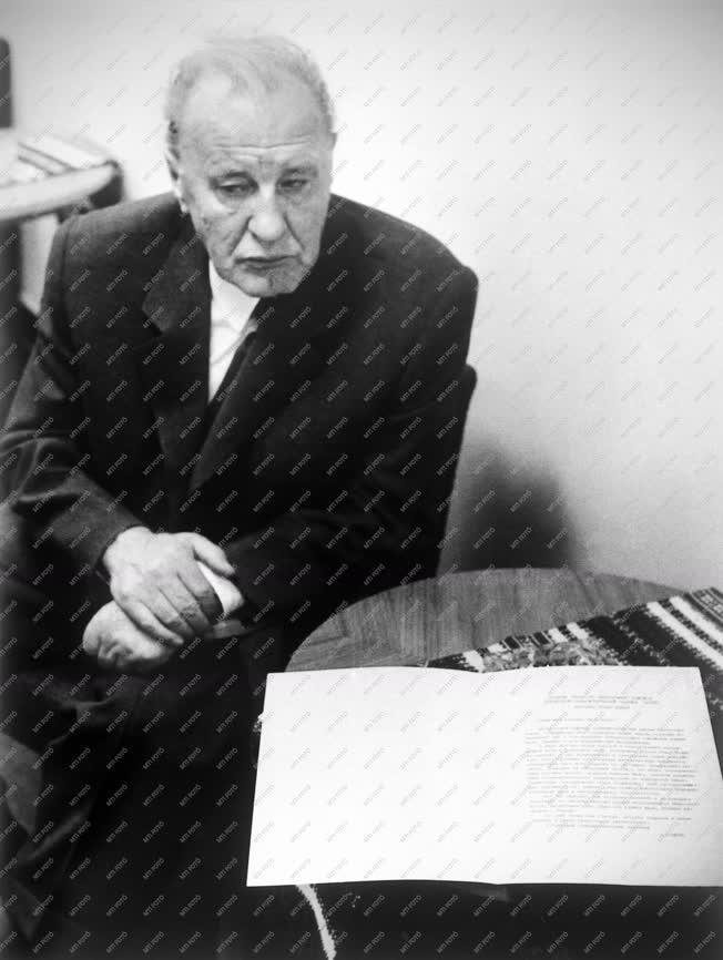 Belpolitika - Kádár János Brezsnyev levelével