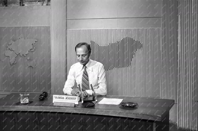 Média - Televízió - Varga József bemondó