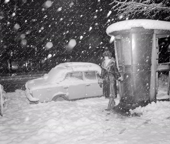 Időjárás - Hóesés