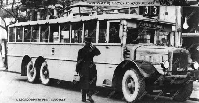 Városkép-életkép - A legmodernebb pesti autóbusz