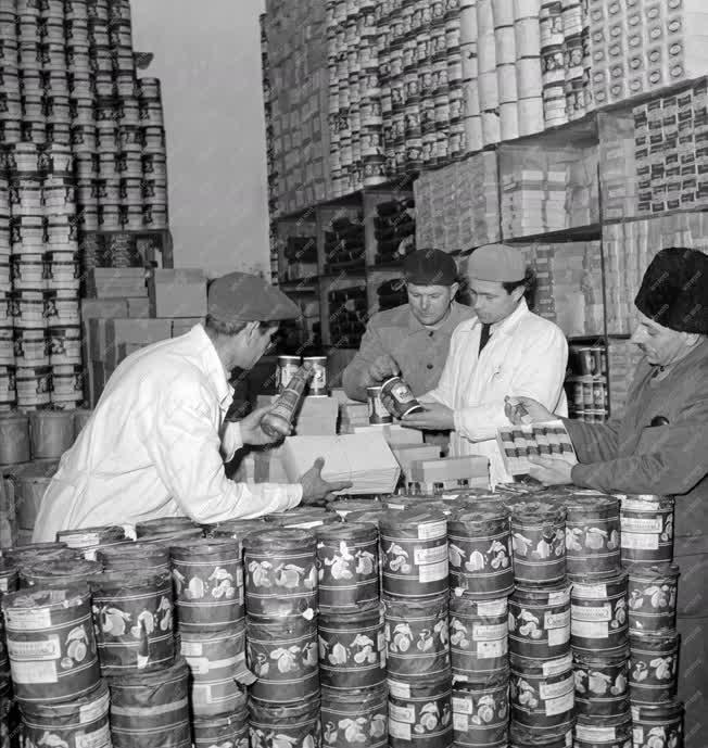 Ipar - Élelmiszerraktár