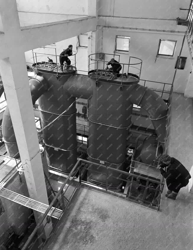 Vegyipar - A Tiszamenti Vegyiművek szuperfoszfát üzeme