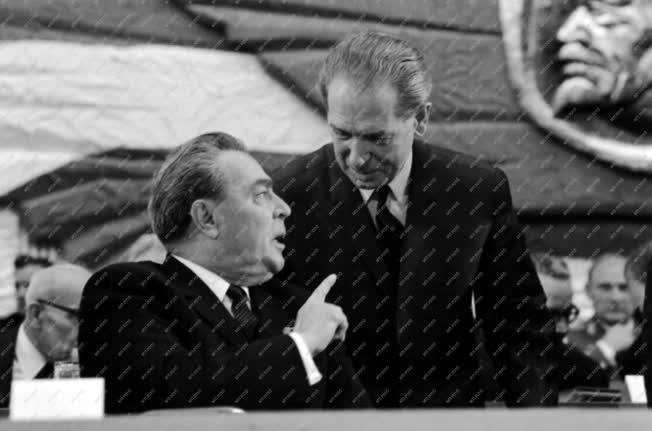 Belpolitika - Az MSZMP X. Kongresszusa