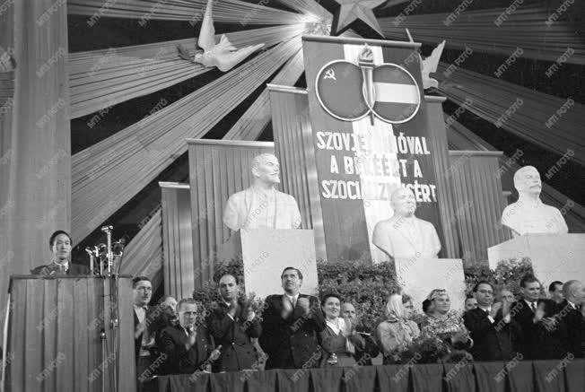 Külkapcsolat - Magyar-Szovjet Társaság kongresszusa