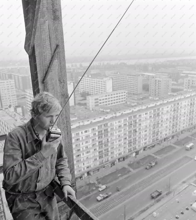 Ipar - Budapest legmagasabb épületének tetején