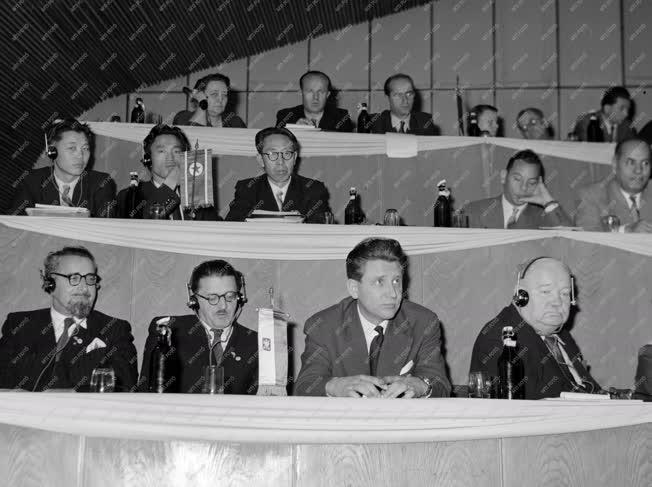 Tanácskozás - Szövosz IV. országos kongresszusa