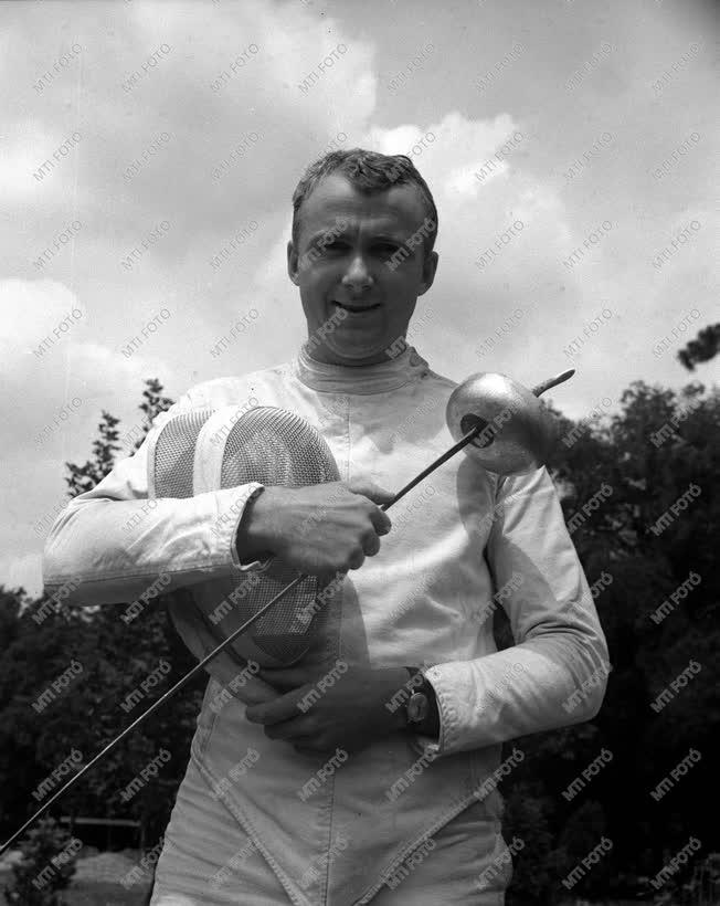 Erdős Sándor olimpiai bajnok párbajtőrvívó