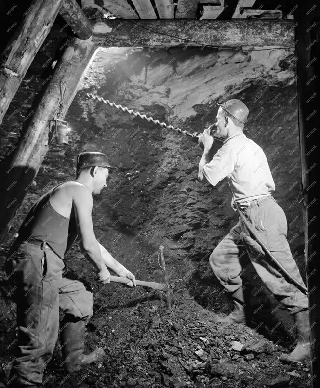 Bányászat - Foglalkozás - Mizserfai bányászok