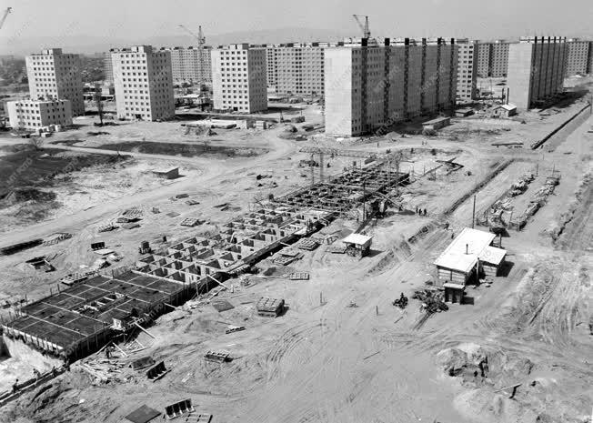 Építőipar - Az újpalotai lakótelep