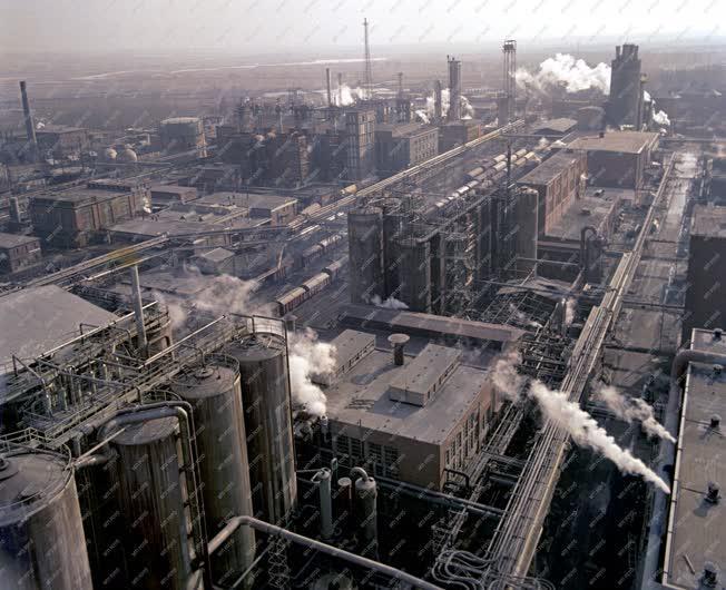 Ipar - Vegyipar - A Péti Nitrogénművek