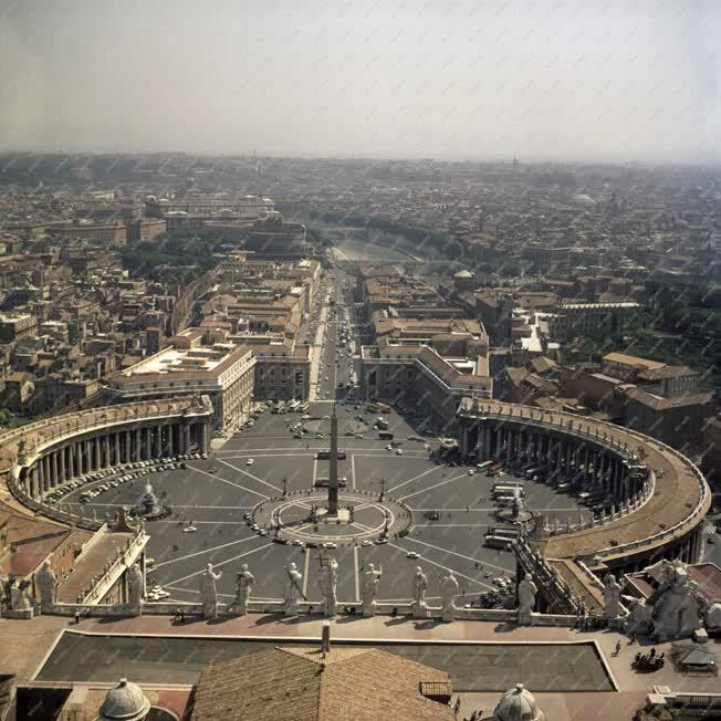 Városkép -  Vatikánváros - Szent Péter tér