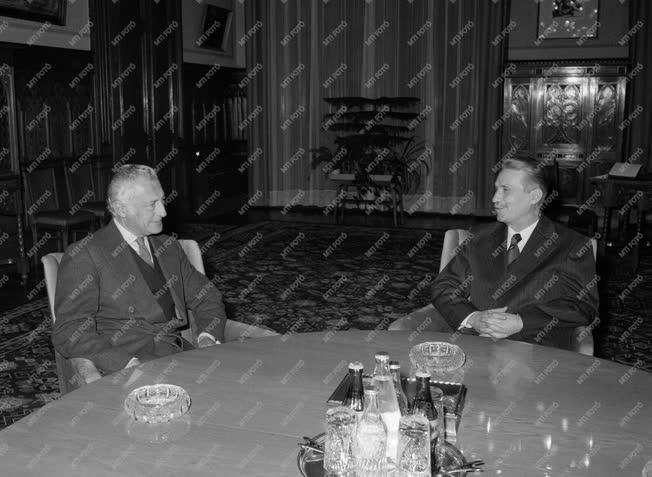 Külkapcsolat - Giovanni Agnelli Budapesten