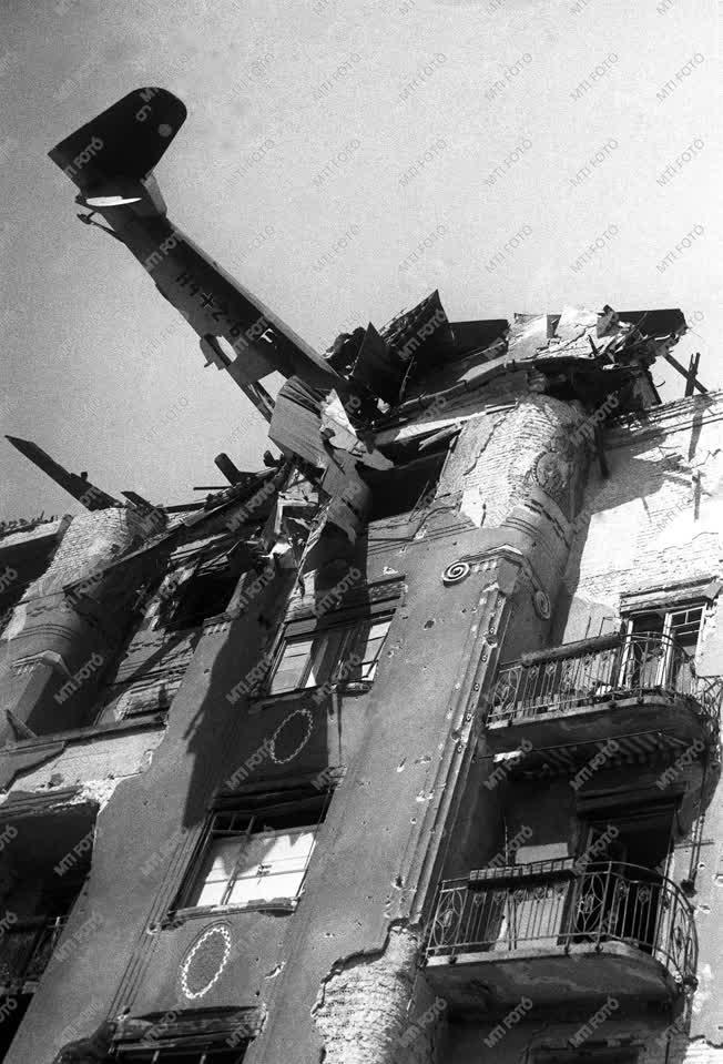 Történelem - Budapest ostroma