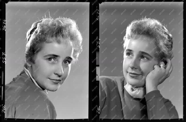 Divat - Fotómodell portréja