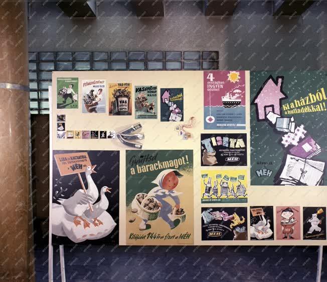 Reklám - MÉH-plakátok kiállítása