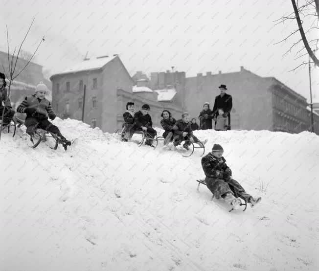 Időjárás - Az első hó Budapesten