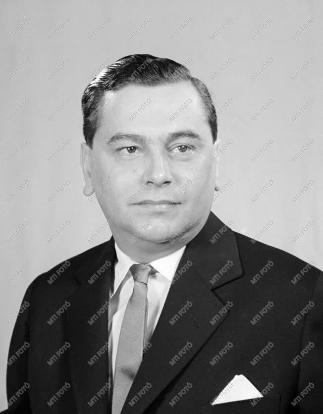 1961-es Kossuth-díjasok - Dr. Polinszky Károly