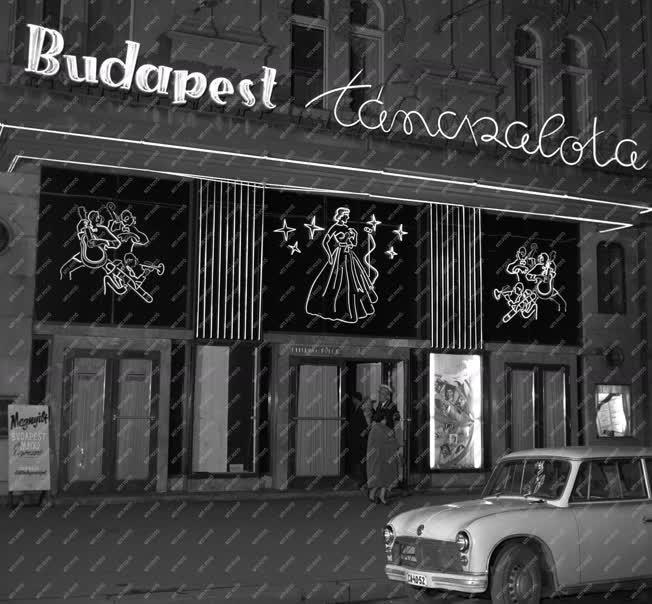Városkép - Budapest éjjel