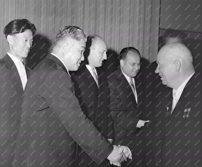 Külkapcsolat - Koreai delegáció fogadása az Országházban