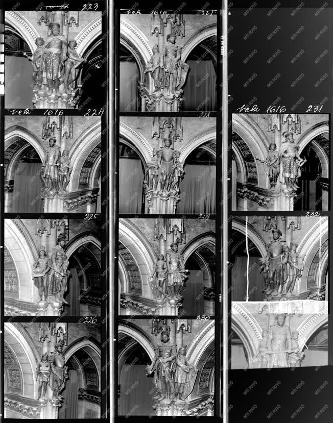 Építkezés - Parlament felújítása - Épületbelső fotók