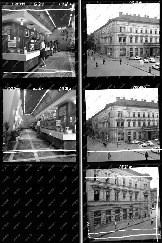 Városkép-életkép - Ibusz album - Ibusz szegedi irodája