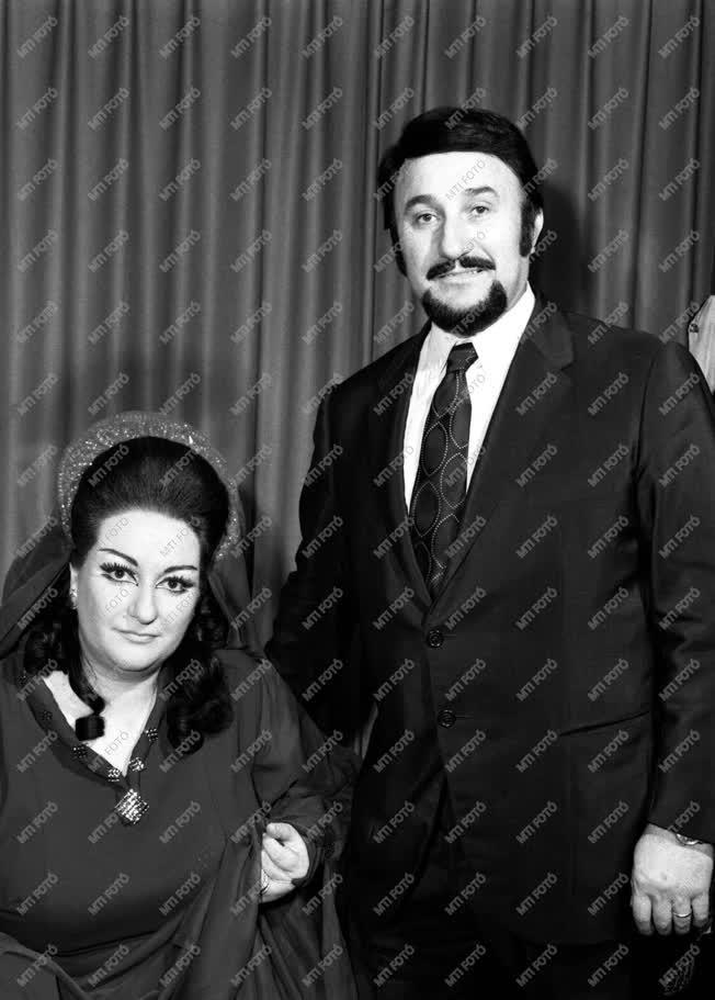 Kultúra - Montserrat Caballé spanyol operaénekesnő