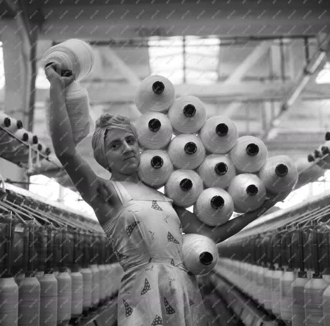 Ipar - A Goldberger Textilművek kelenföldi üzeme