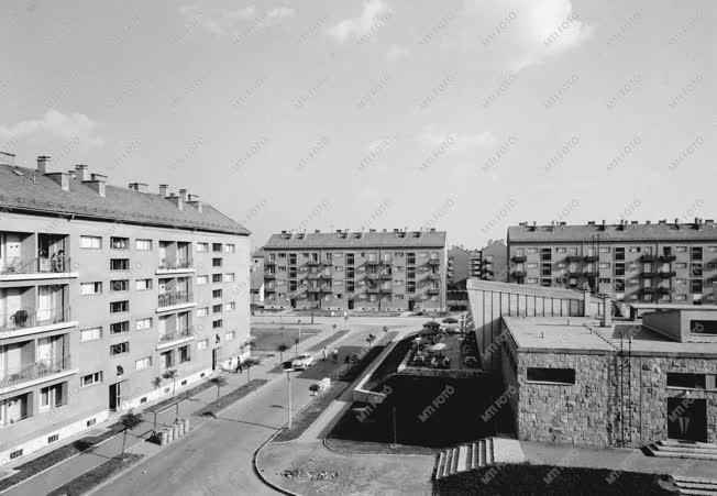 Városkép - Pécs új lakónegyede
