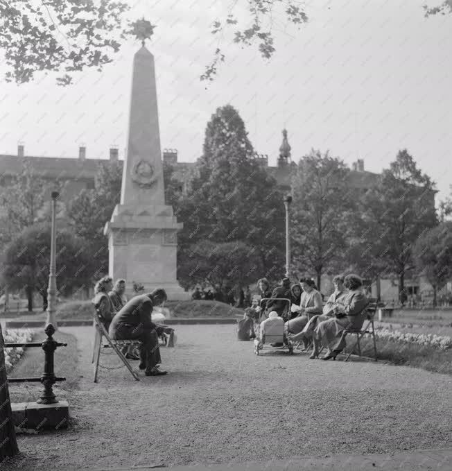 Városkép - Szeged - Szovjet hősi emlékmű