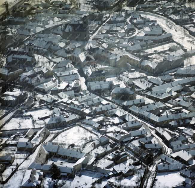 Városkép - Időjárás - Havas Szentendre