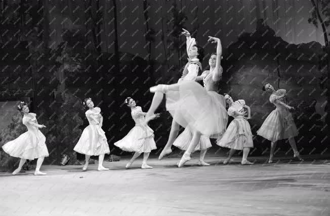 Kultúra - Jelenet Adam Giselle című balettjéből