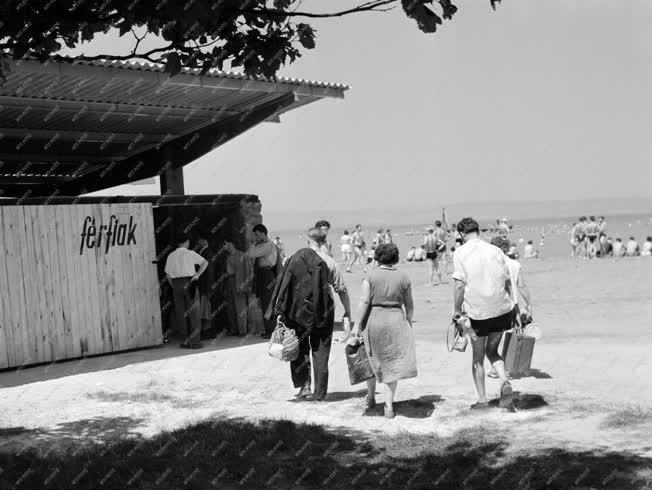Szabadidő - Megnyílt a siófoki strand