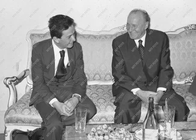 Külpolitika - Kádár János Olaszországban