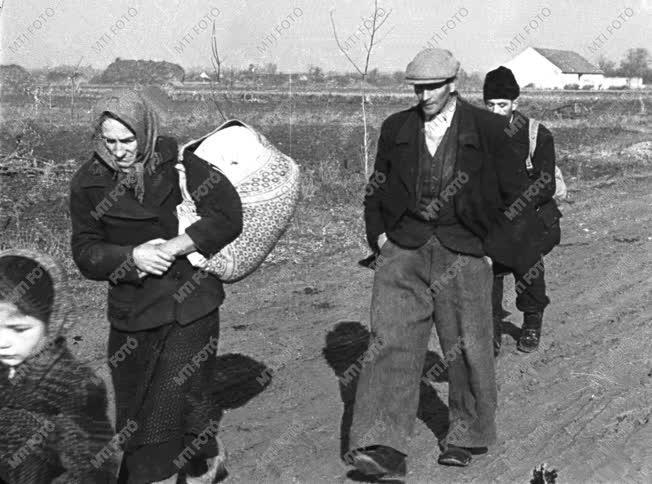 Külpolitika - Csehszlovák-magyar lakosságcsere