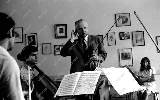Tátrai Vilmos Kossuth-díjas hegedűművész