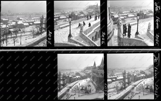 Városkép - Budapest Album - Téli képek
