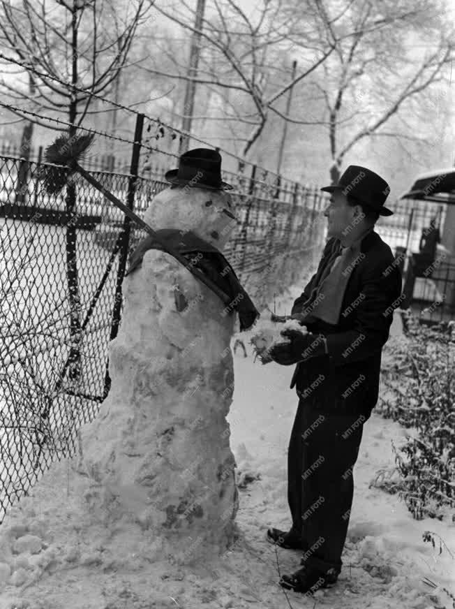 Szabadidő - Téli játékok