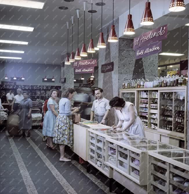 Kereskedelem - Budapesti üzlet