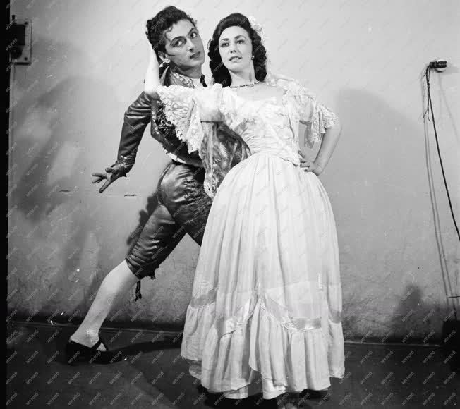 Kultúra - Opera - Géczy Éva és Ősi János táncművészek