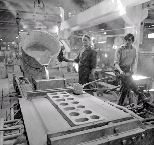 Ipar - Kommunista vasárnap a Csepel Vas- és Fémművekben