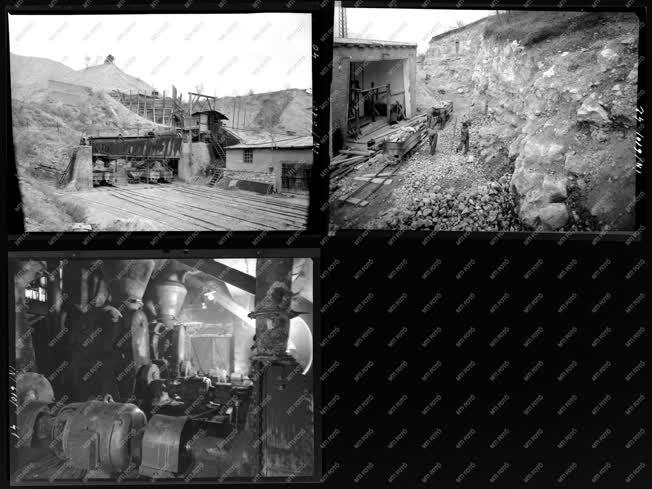 Ipar - Bányaipar - Dorogi Mészmű
