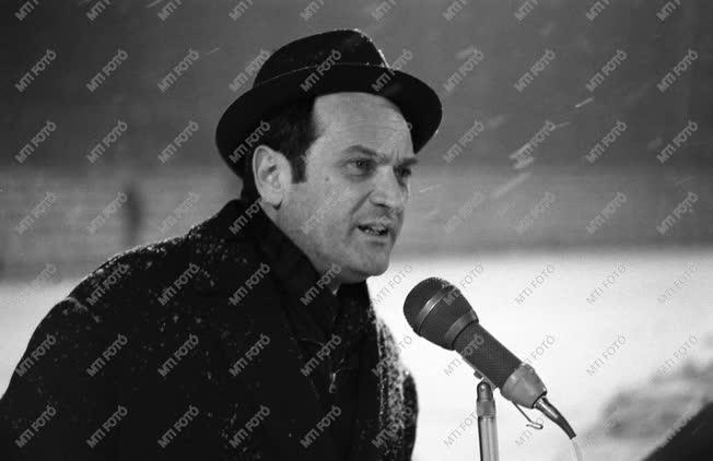 Szepesi György újságíró, riporter