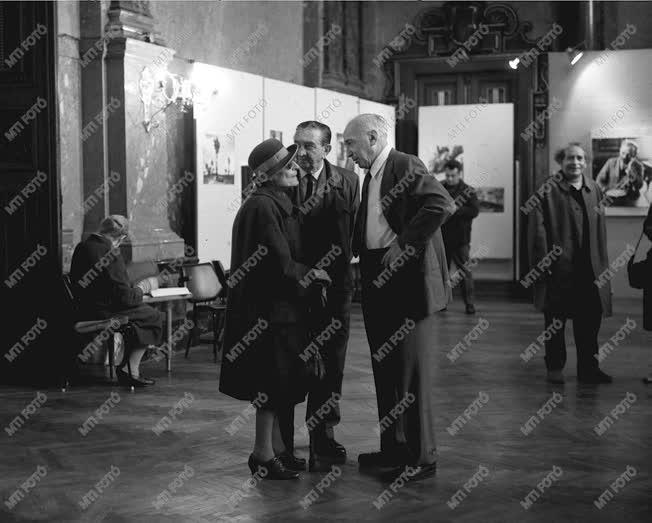 Kultúra - André Kertész kiállításának megnyitója