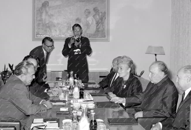 Külkapcsolat - Kádár-Brezsnyev találkozó