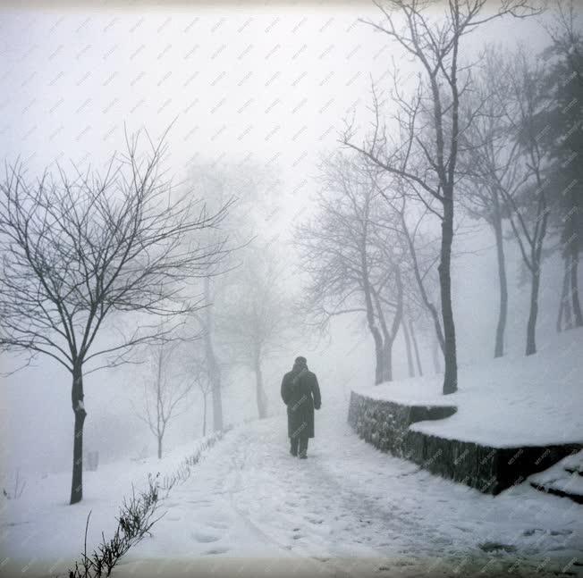 Időjárás - Tél a Balatonon