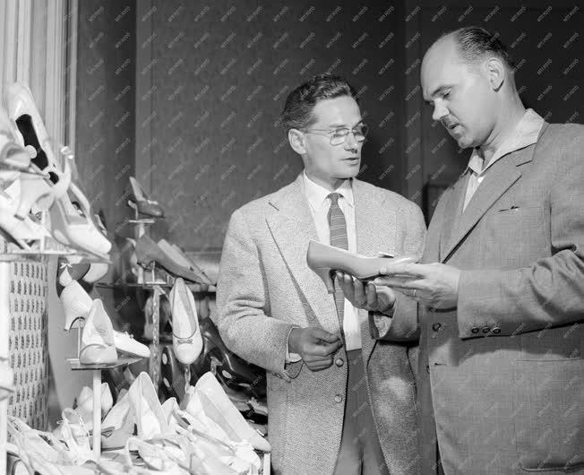 Kereskedelem - Divat - Cipőmodellek kiválasztása