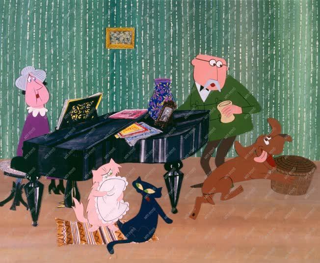 Filmművészet - Frakk, a macskák réme című rajzfilm