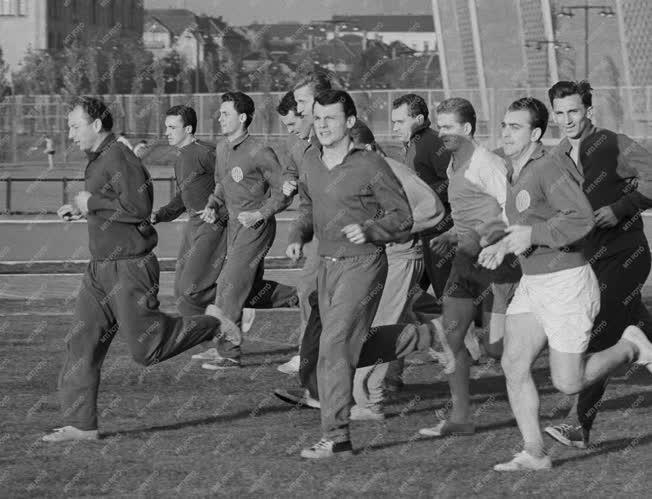 Sport - Jégkorong - A magyar válogatott edzése
