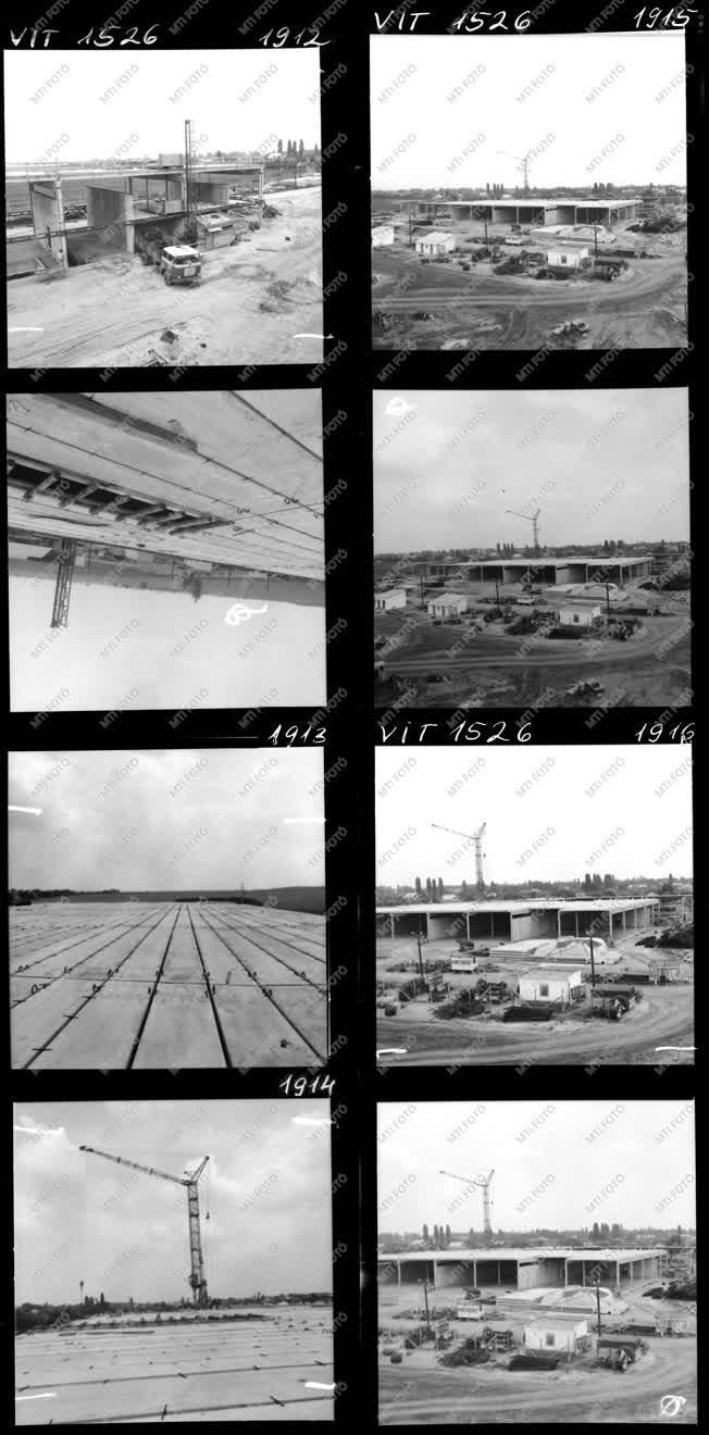 Építkezés - Ipari létesítmény - Könnyűipari Tervező Vállalat