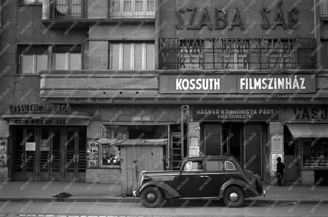 Városkép - Kultúra - A Kossuth filmszínház a Váci úton